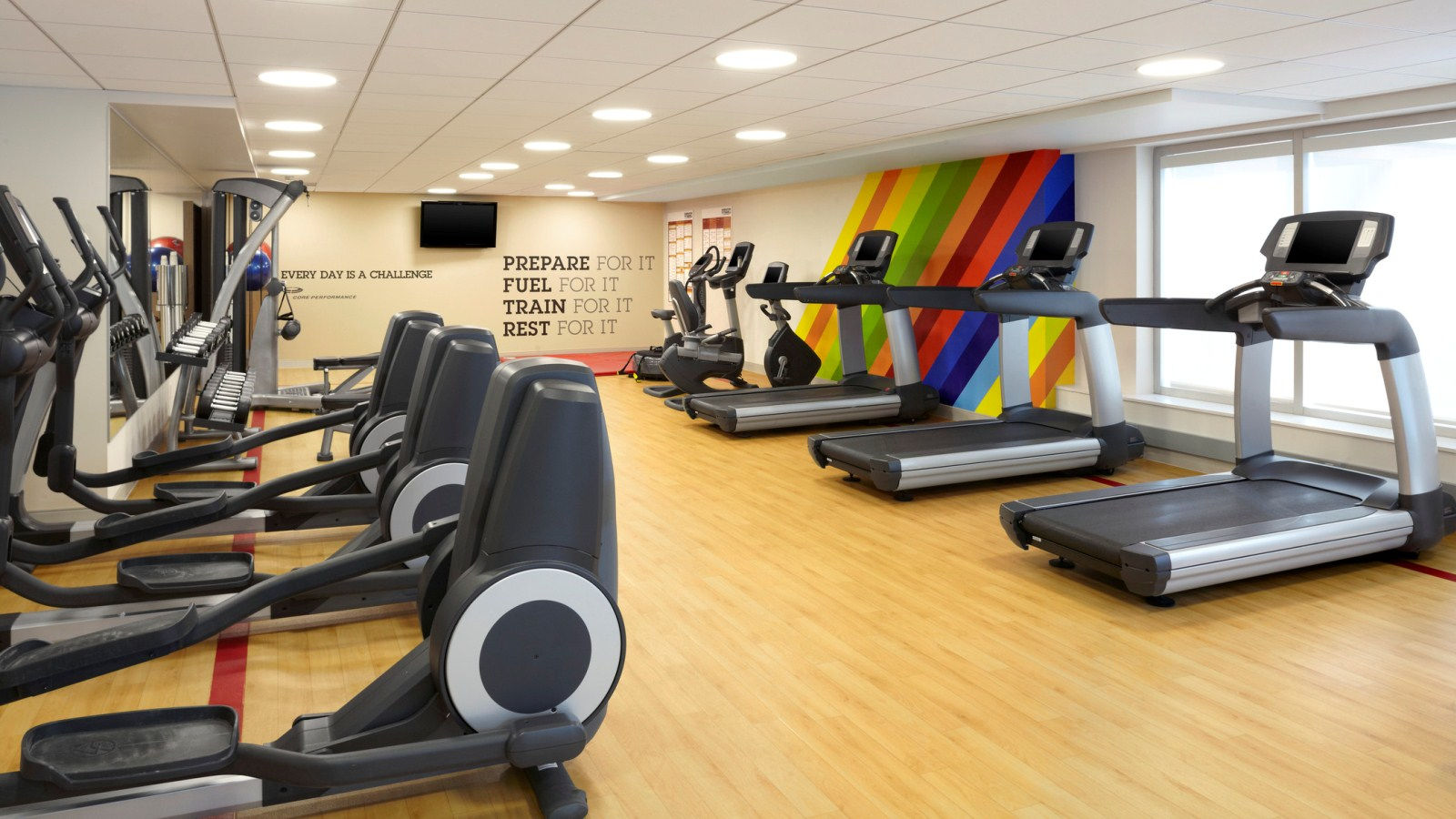 Amenities and Services - Fitness Centre